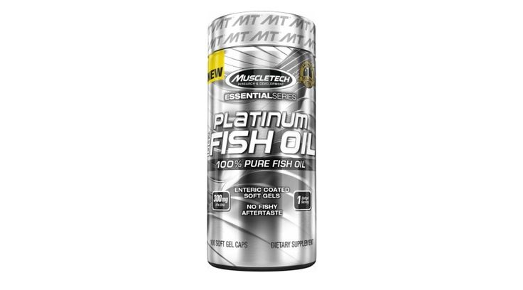 Essential 100% Fish Oil (100 kapszula)