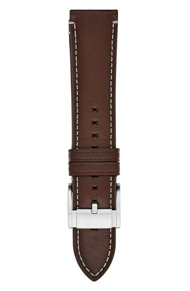 Fossil 22mm Leather Watch Strap
