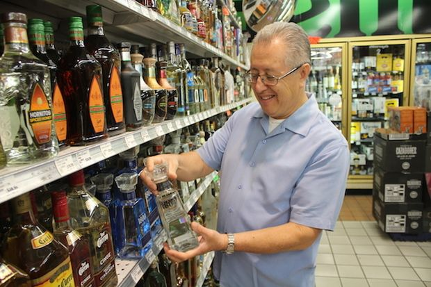 Moreno's Liquors in Little Village carries more tequila varieties than any vendor in the Midwest.