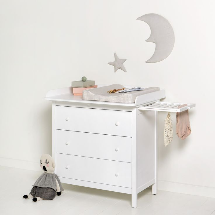 Great Seaside Collection nursery dresser by Oliver Furniture