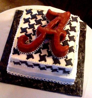 Houndstooth Alabama cake!