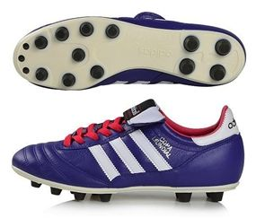Don't be afraid of adding a little color to your life. Get the Adidas Copa Mundial FG Soccer Cleat (Blast Purple/Running White/Vivid Berry) today: www.soccercorner.com