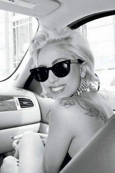 Tatuajes en la espalda: Lady Gaga. Conoce los tatuajes de las famosas