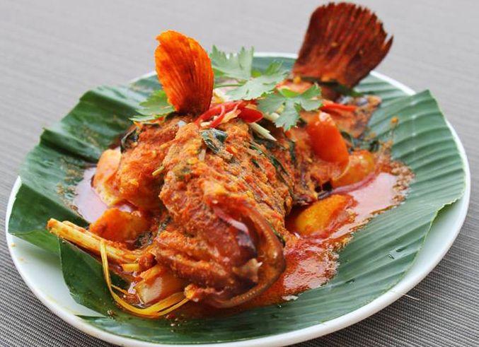 Nyum, we have Woku Belanga Fish from Swiss-Belinn Kristal Kupang :)