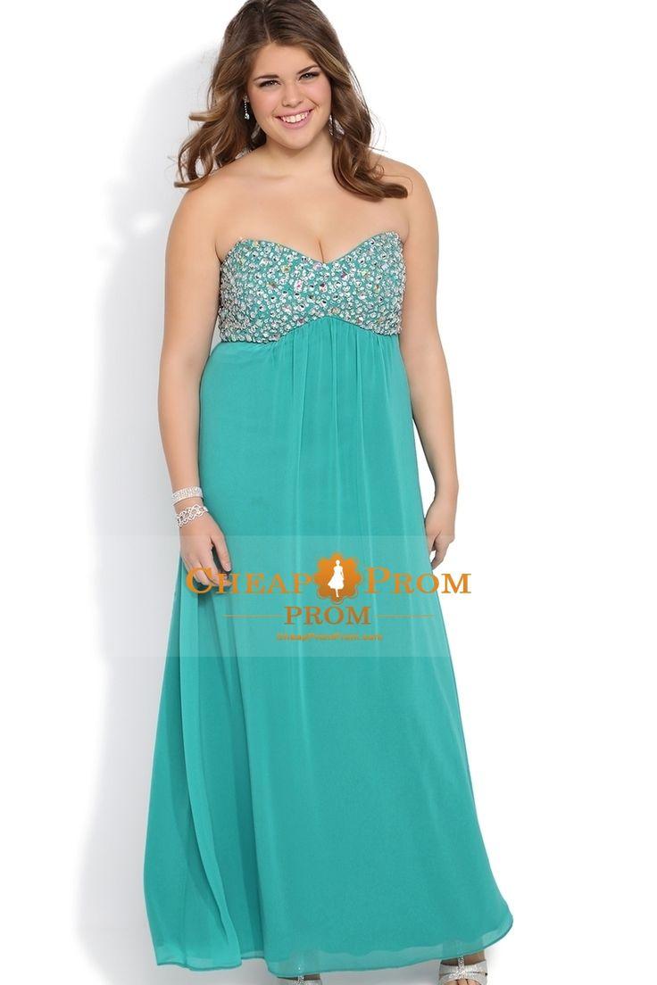 55 best Plus size prom dresses images on Pinterest | Party wear ...