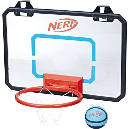 Nerf Sports Nerfoop Pro Series Basketball And Hoop Set Caro