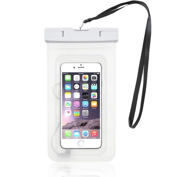 headphone jack TPU material soft tounch waterproof phone case for iPhone7plus for underwater sports swimming ,running,music