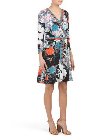 a93c82584a91 Floral Print Tie Waist Dress in 2019   Fashion Wishlist - Office ...
