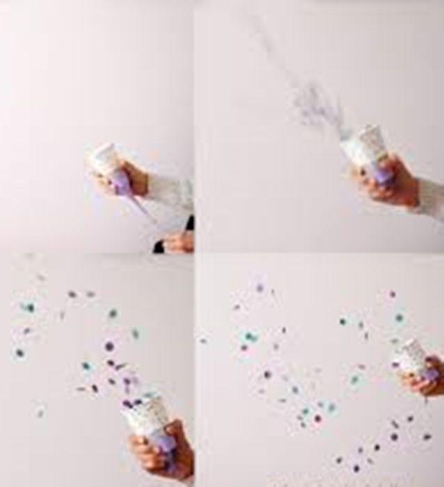 ¡Realiza un cañón de confeti para recibir al año nuevo! #DIY #Party