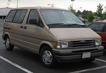 Ford Aerostar - Adventure Wagon, you were red and how you made it through the Canadian mountains at the end, I don't know.