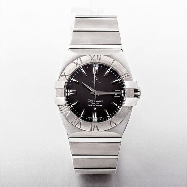 Omega Constellation Double Eagle Co-Axial Black Dial