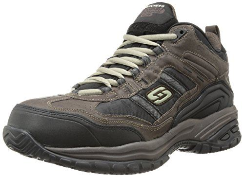 Skechers for Work Men's 70727 Soft Stride Canopy Slip Resistant Work Boot http://www.safetygearhq.com/product/personal-safety/safety-shoes/skechers-for-work-mens-70727-soft-stride-canopy-slip-resistant-work-boot/