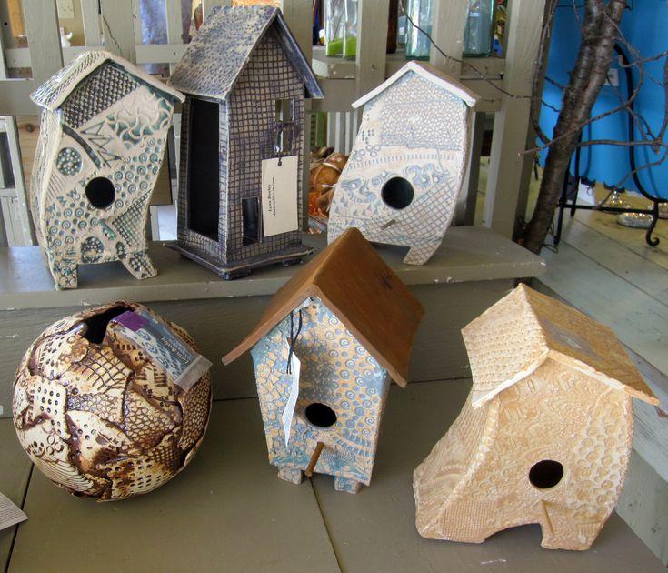 Ceramic Christmas Village Houses
