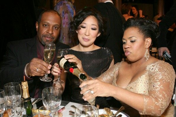 James Pickens Jr ,Sandra Oh ,Chandra Wilson