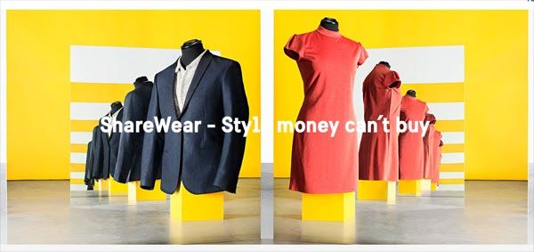 ShareWear, ovvero l'armadio condiviso: l'ultima (pazza) idea svedese #sharewear #shareclothes #ethicalclothes #fasion #fashionblog #myenglishmood