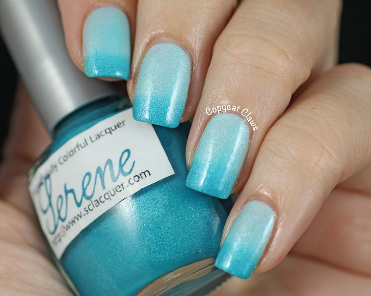 Serene. A beautiful swatch by Copycat Claws