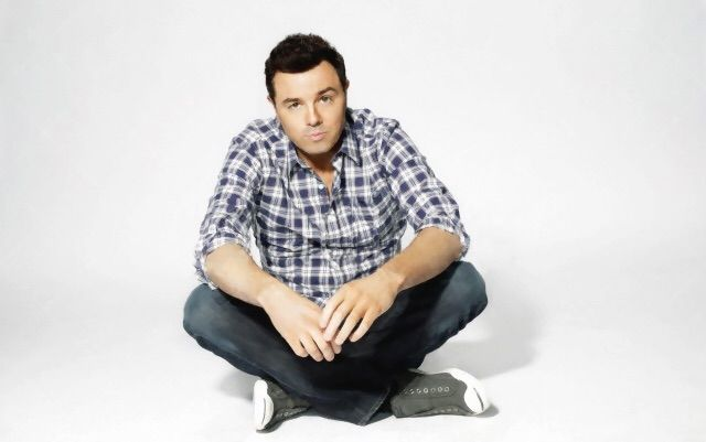 Who knew cross legged could be so sexy? #sethmacfarlane