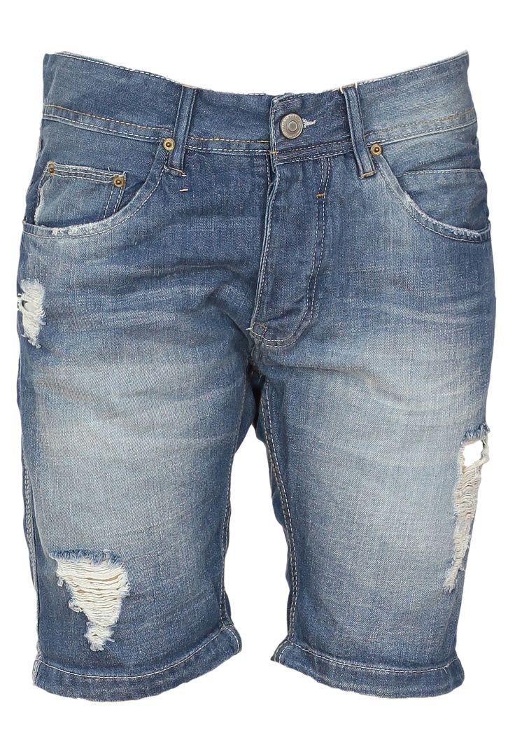 Pantaloni scurti Bershka Simette Blue la numai 54,90 lei. Compozitie: 100% bumbac  Intretinere: 30°C in masina, Se calca la 110°C