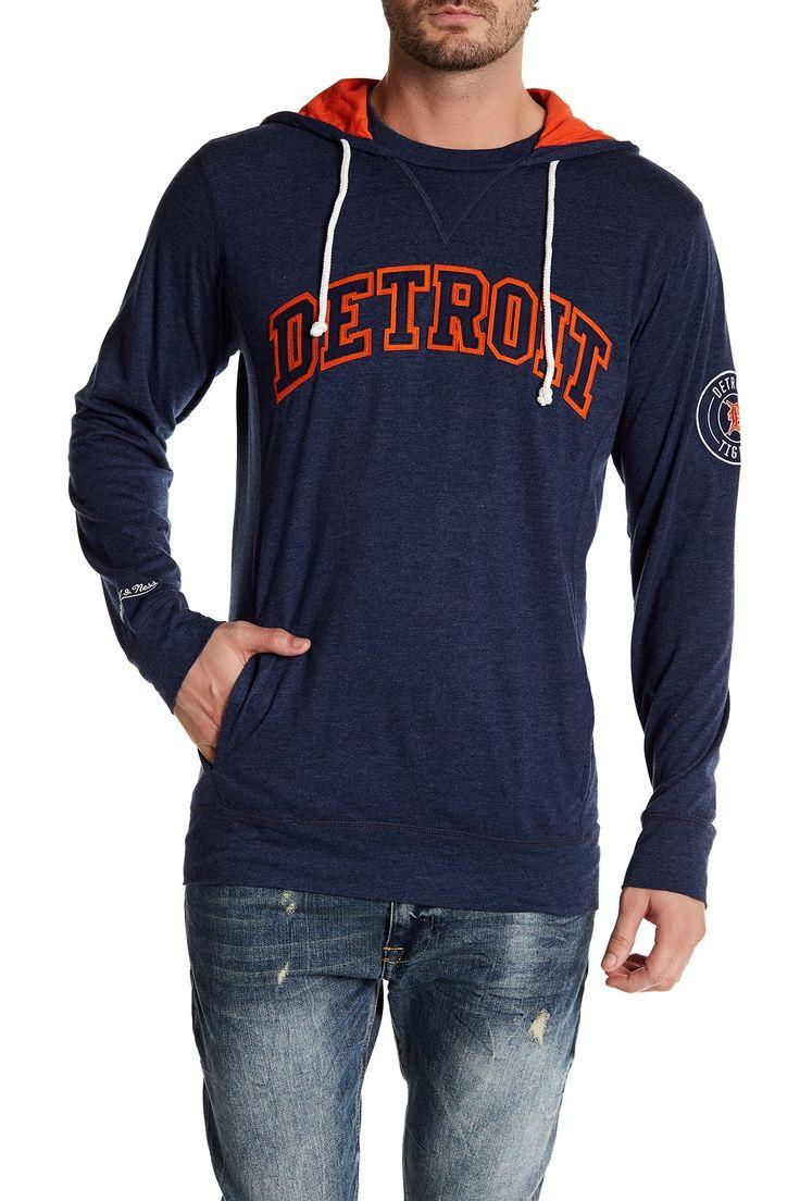 MLB Tigers Away Team Hooded Sweatshirt