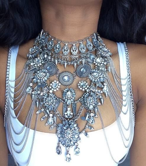 Silver Statement Necklace                                                                                                                                                      More