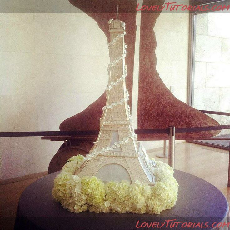 МК торт 3Д Эйфелева башня-3D Eiffel Tower Cake tutorial - Мастер-классы по украшению тортов Cake Decorating Tutorials (How To's) Tortas Paso a Paso