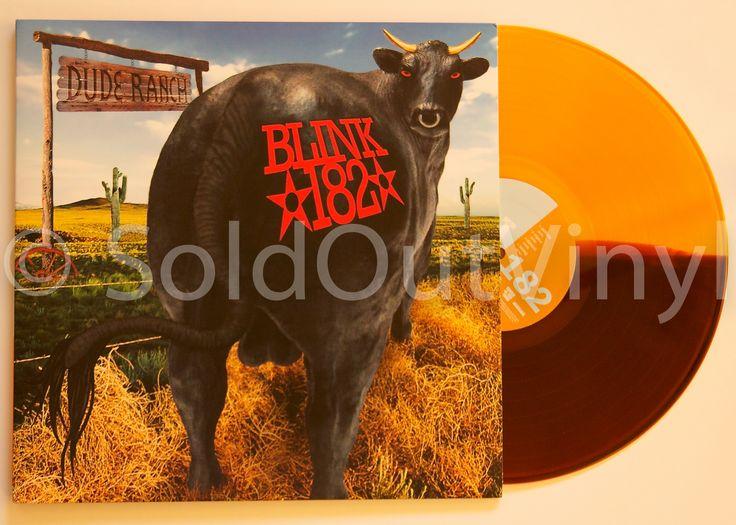 Blink 182 - Dude Ranch Vinyl LP - Half Brown/Half Orange MTS Pressing - only at SoldOutVinyl.com