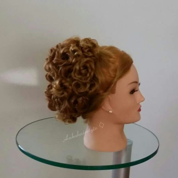 Ankahairstyle Weddinghair gala hair