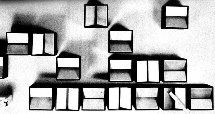posacenere Cubo / B Munari / prod Danese / 1957