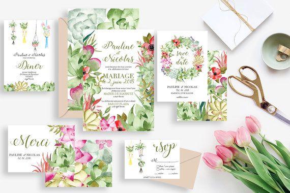 1000 id es sur le th me invitations de mariage imprimer for Papeterie brossard