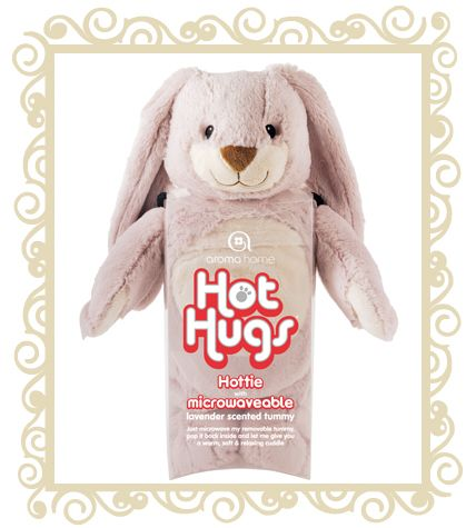 http://www.buttonbaby.com.au/aroma-home-hugs-rabbit-p-2287.html - aroma home hot hugs Rabbit.Everyone remembers their favorite cuddly toy, and our new Hot Hugs bunny is one fluffy masterpiece your kids will love for years to come. Abounding in bunny brilliance with an ultra-soft plush coat, it�s so irresistibly huggable you�ll be caressing its long floppy ears for hours.Best of all, it comes with our special lavender-scented tummy. Just a minute in the microwave gives you warm, aromatic ...