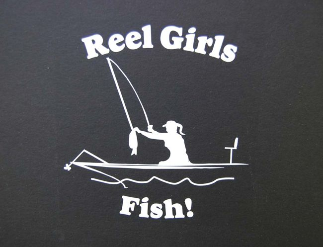 ReelGirlsFish.net ~ Apparel for Women Who Love to Fish