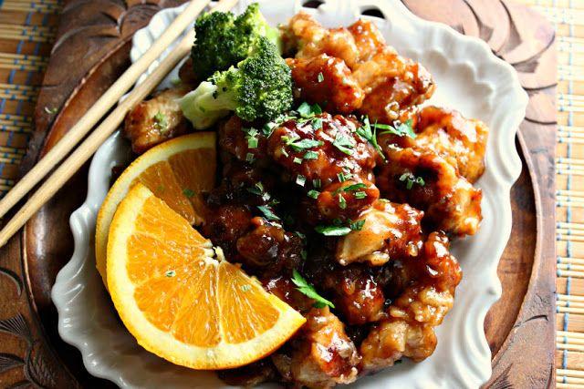 Comfy Cuisine: Sweet & Spicy Orange Chicken