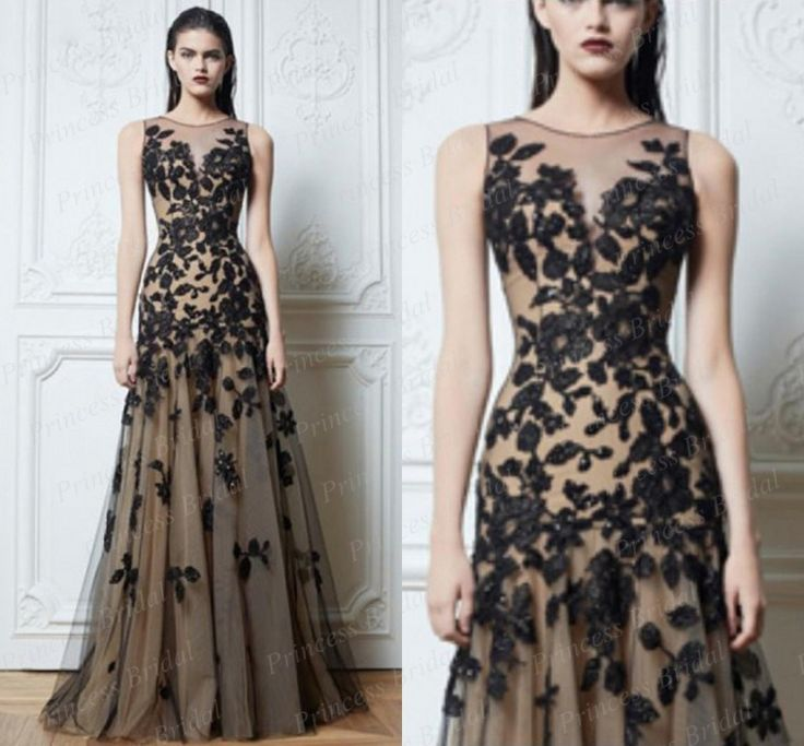 Livraison gratuite remise à la mode a ligne de sol longueur longues Tulle 2015 Zuhair Murad robes de soirée prix avec Appliques ZM007 dans Robes de soirée de Mariages et événements sur AliExpress.com | Alibaba Group