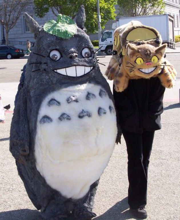 My Neighbor Totoro cosplay | Cosplay | Pinterest | Cosplay ...
