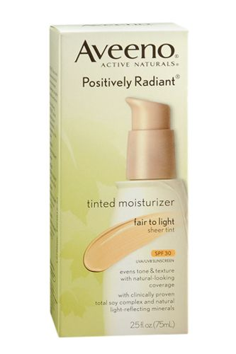 For you green gals, this moisturizer provides the ultimate undetectable tint while also protecting your complexion with SPF 30. Bonus: It contains soy to brighten and even your skin tone over time.