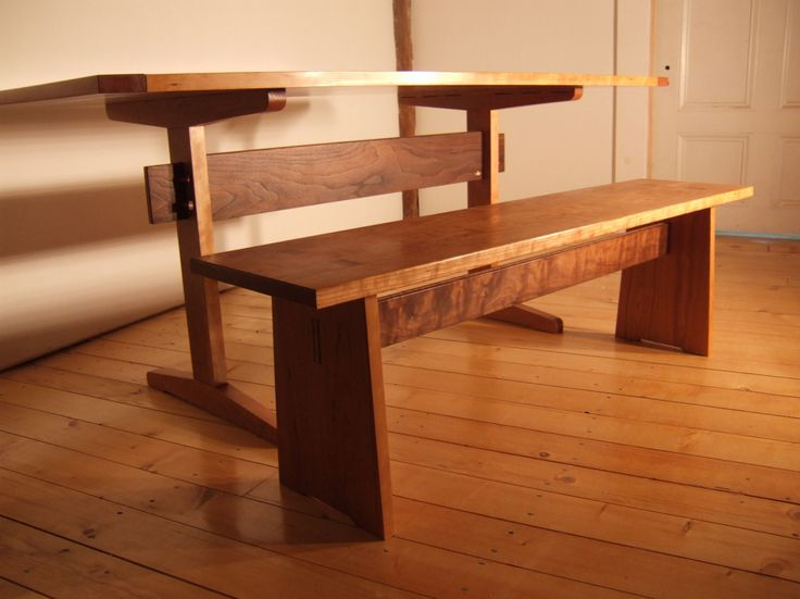 Shaker Trestle Table Plans - WoodWorking Projects & Plans