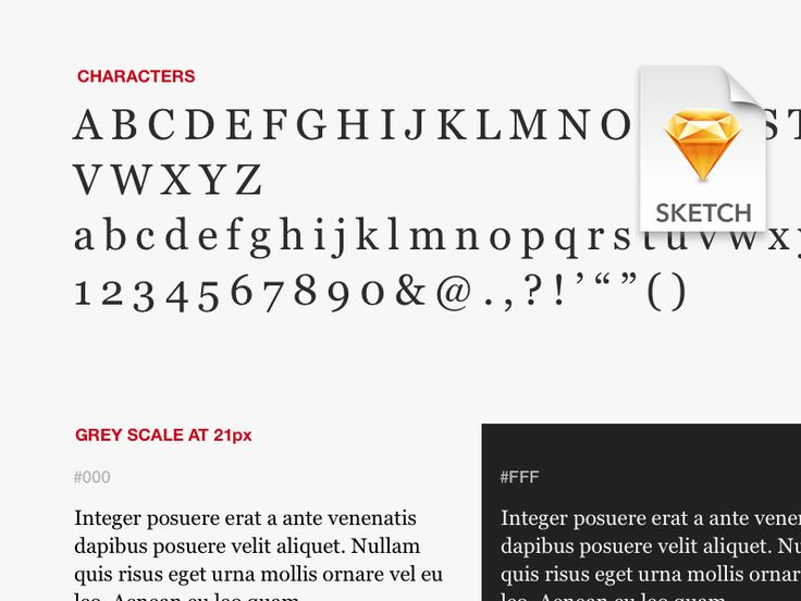 I needed a document to fast comparing fonts on the go using sketch, so I created this documents that include different size and possible scenario for the font you want to use. There is also a secti...