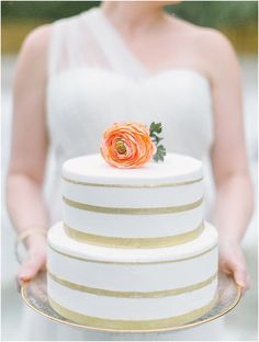 Learn how to make a fake cake like this with no icing or fondant! by JoPhoto