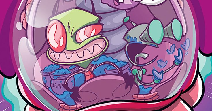 January sees new Invader Zim, Rick and Morty, Motro, Letter 44, and more from Oni Press.