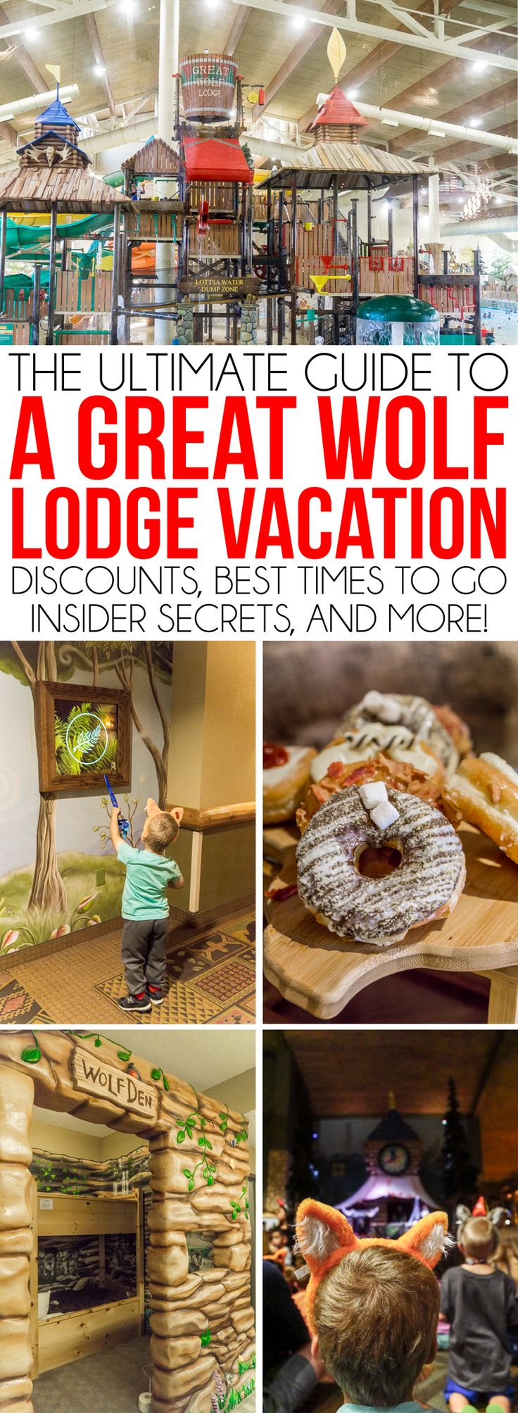 Tips and secrets to help families (even Mom!) have the most fun at Great Wolf Lodge Grapevine in Dallas! How to pick the best rooms, hacks for saving money, what food to eat (and what to skip), MagiQuest tips, and even details on Snowland and Halloween celebrations! Definitely need to read these tips before going!
