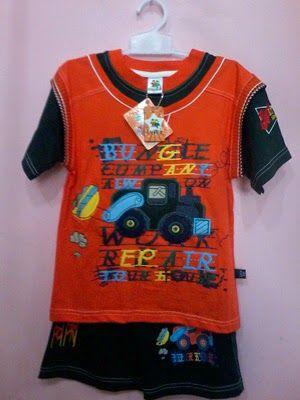 Pakaian Anak: Baju stelan anak bungle