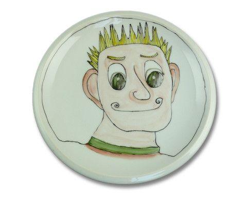 """Piatto-gioco """"Alessandro"""" ideato da EVAETABU'... divertitevi a rendere buffo questo simpatico personaggio con il cibo — La Casa di Ninni"""