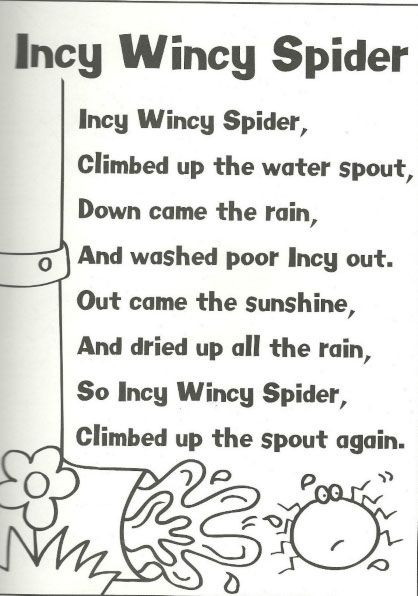 eency weency spider coloring pages - photo#10