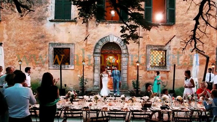 ALMA PROJECT @ Villa di Ulignano - street lamps - wedding table -
