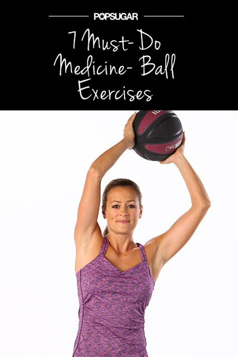 7 Medicine-Ball Moves For an Even Better Workout - Adding some extra resistance to your strength-training routine can offer the results you're looking for, so bring a medicine ball into the mix! Challenge your whole body and update your workout with the following moves.