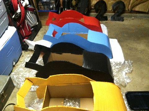 semi-tutorial for cardboard race cars