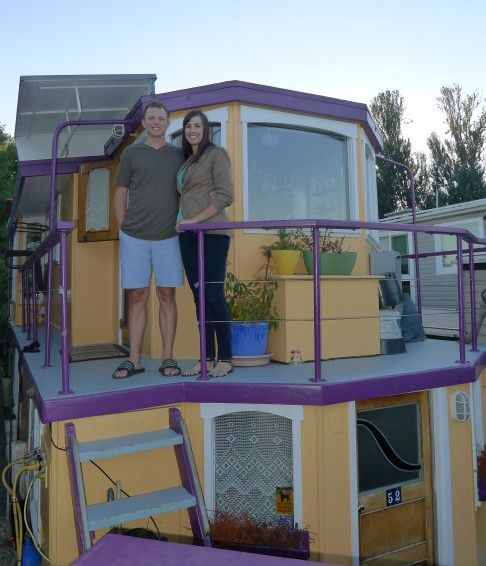 Eric & Mary on houseboat 3