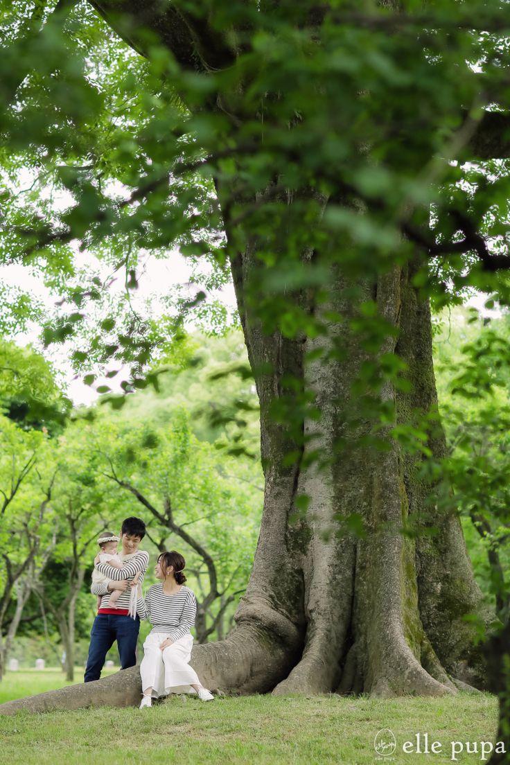 プチ撮影会のよーす*at京都御苑 | *elle pupa blog*