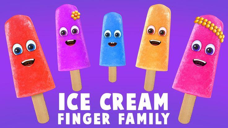 Ice Cream Finger Family Song | Top 10 Finger Family Songs | Daddy Finger Rhyme