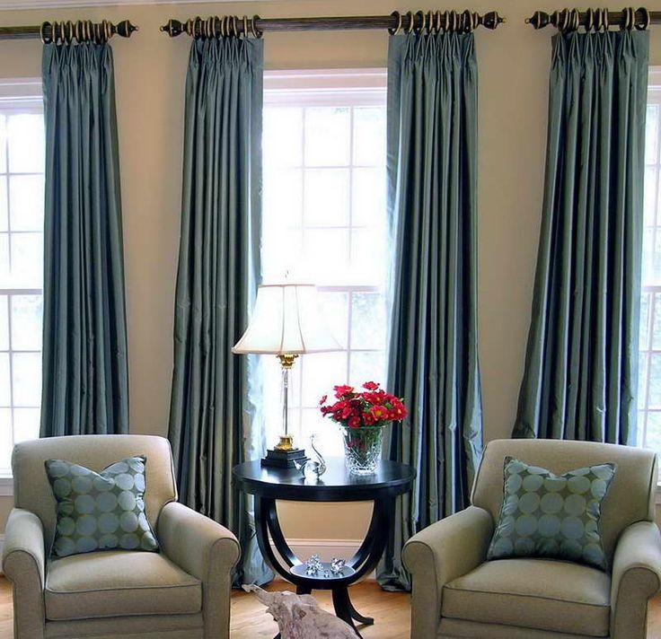Inspiration Shot 6 Lux Side Panels With Chunky Curtain